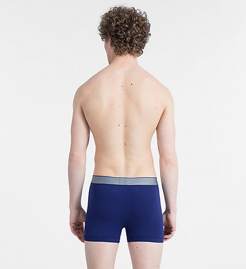 CALVINKLEIN Trunks - Customized Stretch - DARK NIGHT - CALVIN KLEIN NEW FOR MEN - detail image 1