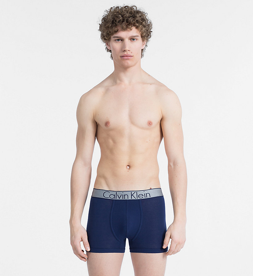 CALVIN KLEIN Boxer - Customized Stretch - BLACK - CALVIN KLEIN SOUS-VÊTEMENTS - image principale