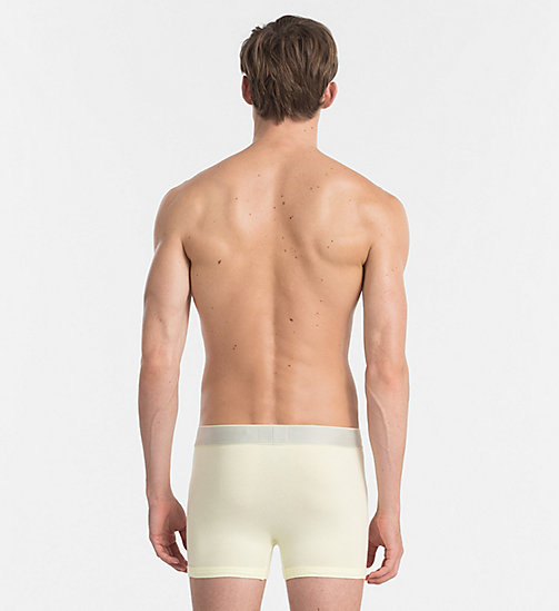 CALVINKLEIN Trunks - Customized Stretch - AGNES YELLOW - CALVIN KLEIN UNDERWEAR - detail image 1