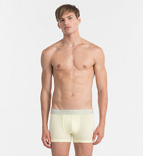 CALVINKLEIN Trunks - Customized Stretch - AGNES YELLOW - CALVIN KLEIN UNDERWEAR - main image