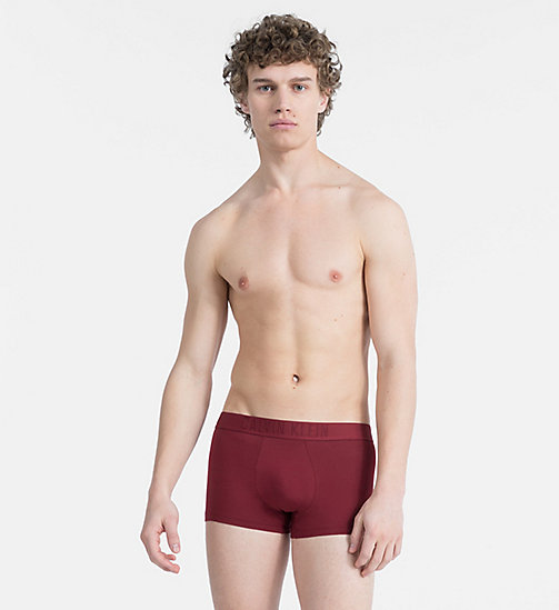 CALVINKLEIN Trunks - CK Black - FIRE BRICK - CALVIN KLEIN NEW IN - main image