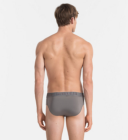 CALVINKLEIN Hip Briefs - CK Black - GREY SKY - CALVIN KLEIN BRIEFS - detail image 1