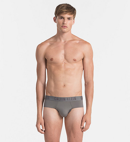 CALVINKLEIN Hip Briefs - CK Black - GREY SKY - CALVIN KLEIN BRIEFS - main image