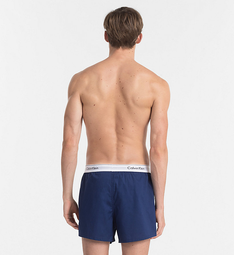 CALVINKLEIN 2er-Pack Slim Fit Boxershorts - Modern Cotton - CHARCOAL HEATHER/ MARLOW - CALVIN KLEIN Unterwäsche - main image 2