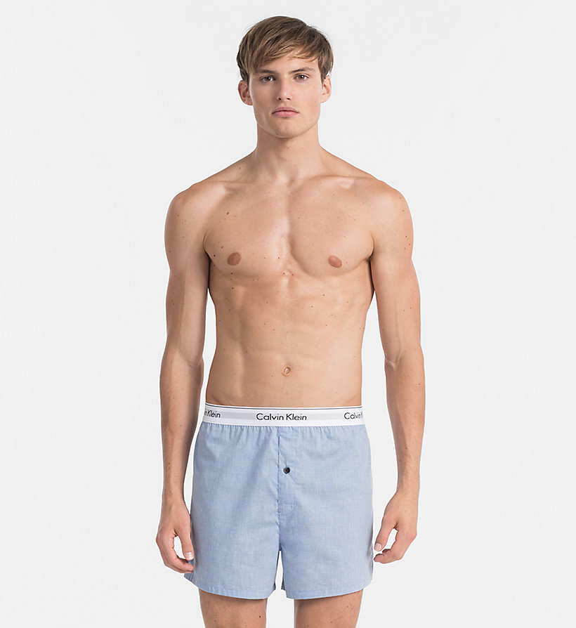 CALVINKLEIN 2er-Pack Slim Fit Boxershorts - Modern Cotton - CHARCOAL HEATHER/ MARLOW - CALVIN KLEIN Unterwäsche - main image 3