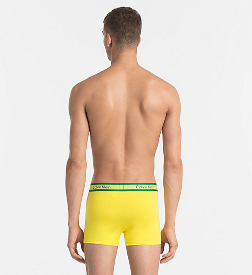 CALVINKLEIN Trunks - Compete - COUNTRIES YELLOW - CALVIN KLEIN NEW ARRIVALS - detail image 1