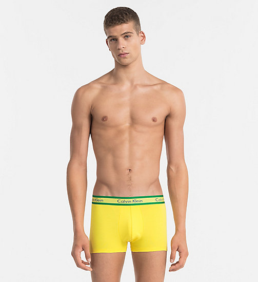 CALVINKLEIN Bóxer - Compete - COUNTRIES YELLOW - CALVIN KLEIN Bright Colours - imagen principal
