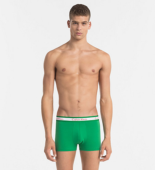 CALVINKLEIN Bóxer - Compete - COUNTRIES GREEN -  Bright Colours - imagen principal