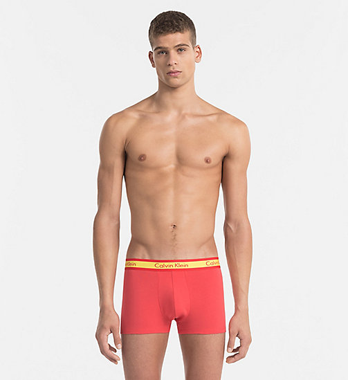 CALVINKLEIN Trunks - Compete - COUNTRIES RED - CALVIN KLEIN NEW ARRIVALS - main image