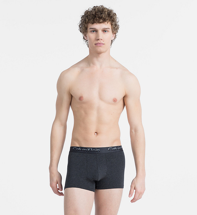 CALVINKLEIN 3 Pack Trunks - SKYVIEW/HEATHER GREY/BLACK - CALVIN KLEIN UNDERWEAR - detail image 3