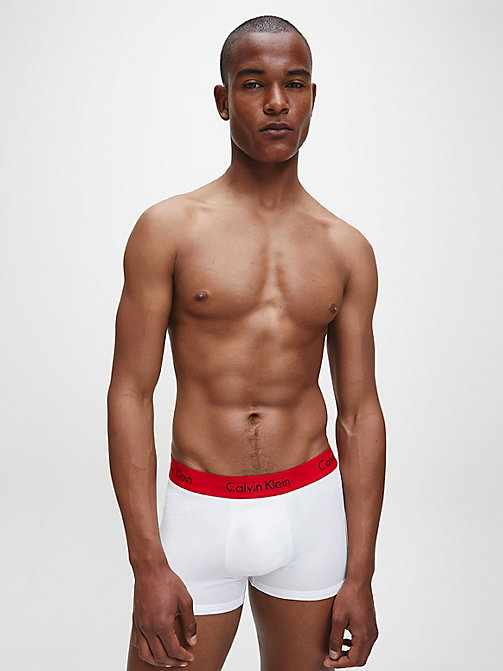 CALVIN KLEIN 2 Pack Trunks - Pro Stretch - WHITE W IMPACT WB - CALVIN KLEIN UNDERWEAR - detail image 1
