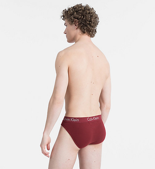 CALVINKLEIN Hip Briefs - Body - FIRE BRICK - CALVIN KLEIN NEW FOR MEN - detail image 1