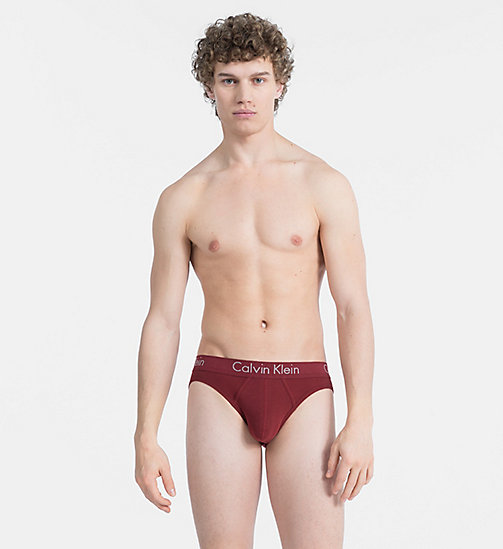 CALVINKLEIN Hip Briefs - Body - FIRE BRICK - CALVIN KLEIN NEW FOR MEN - main image