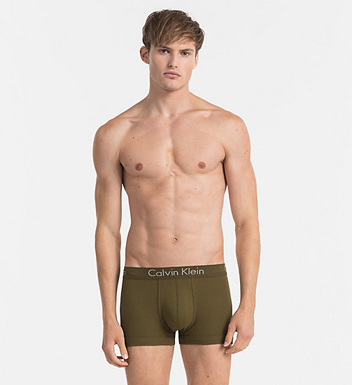 CALVINKLEIN Trunks - Body - RIFLE GREEN - CALVIN KLEIN NEW ARRIVALS - main image