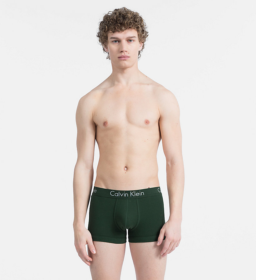 CALVIN KLEIN Trunks - Body - FIRE BRICK - CALVIN KLEIN UNDERWEAR - main image