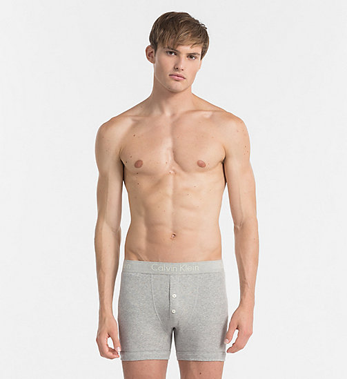 CALVINKLEIN Boxers - Body - HEATHER GREY - CALVIN KLEIN BODY FOR HIM - main image