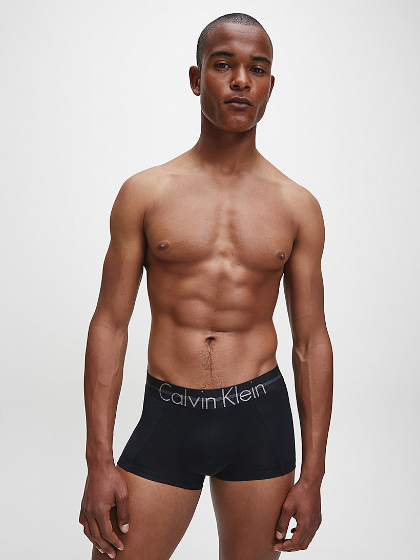CALVIN KLEIN Trunks - Focused Fit - WHITE - CALVIN KLEIN UNDERWEAR - detail image 1