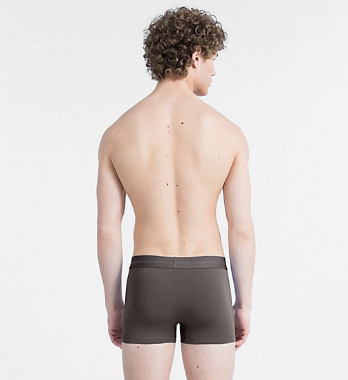 CALVIN KLEIN Shorts - Focused Fit - PAVEMENT - CALVIN KLEIN SHORTS - main image 1