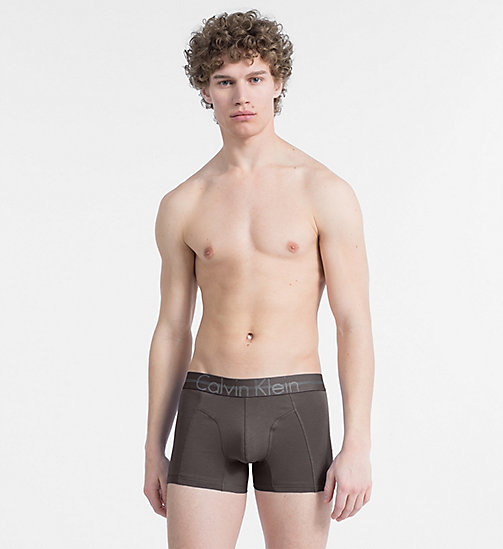 CALVINKLEIN Trunks - Focused Fit - PAVEMENT - CALVIN KLEIN UNDERWEAR - main image