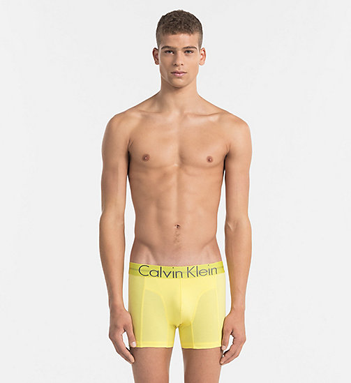 CALVINKLEIN Shorts - Focused Fit - SUNBEAM - CALVIN KLEIN SHORTS - main image