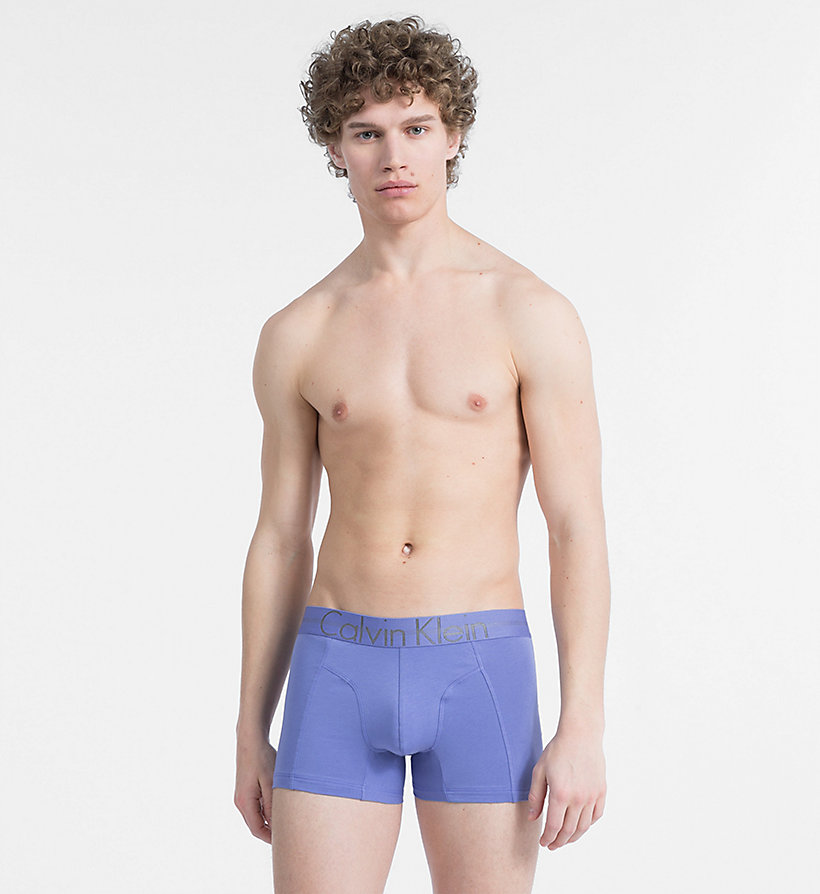 CALVIN KLEIN Trunks - Focused Fit - BLACK - CALVIN KLEIN UNDERWEAR - main image