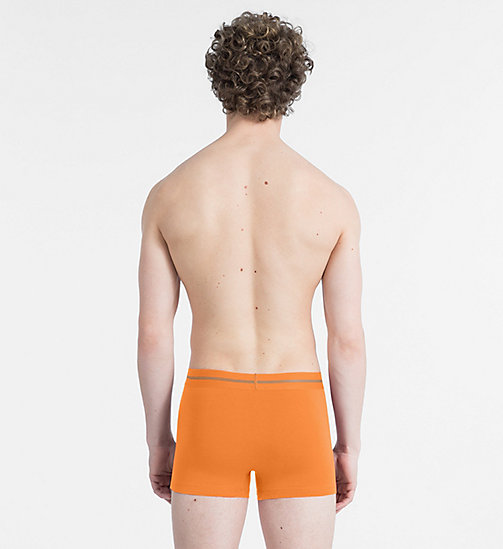 CALVINKLEIN Trunks - Focused Fit - BELL ORANGE - CALVIN KLEIN NEW FOR MEN - detail image 1