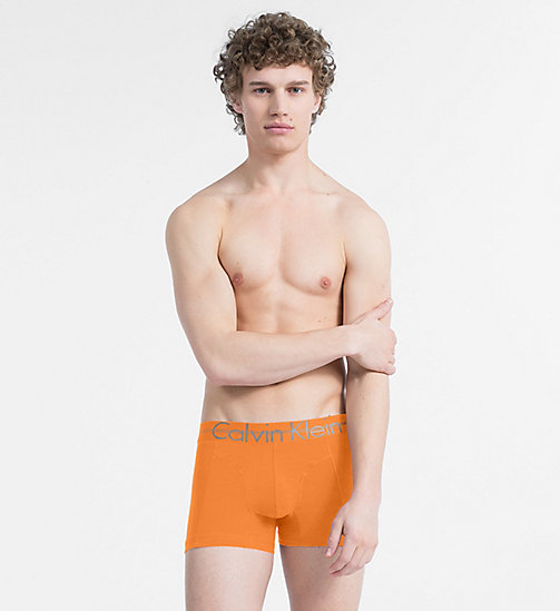 CALVINKLEIN Trunks - Focused Fit - BELL ORANGE - CALVIN KLEIN NEW FOR MEN - main image