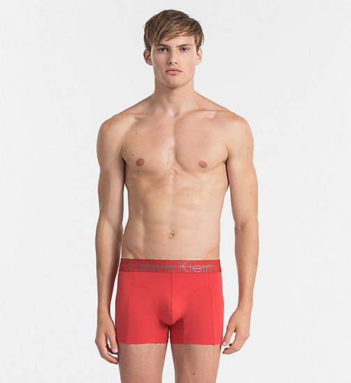 CALVINKLEIN Trunks - Focused Fit - RED HEAT -  Bright Colours - main image