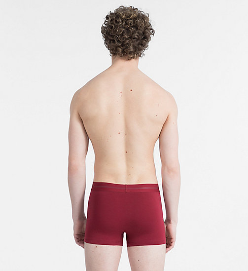 CALVIN KLEIN Trunks - Focused Fit - BIKING RED - CALVIN KLEIN NEW IN - detail image 1