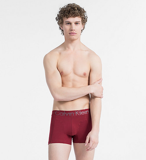CALVIN KLEIN Trunks - Focused Fit - BIKING RED - CALVIN KLEIN NEW IN - main image
