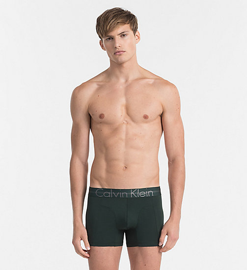 CALVINKLEIN Shorts - Focused Fit - INK GREEN - CALVIN KLEIN SHORTS - main image