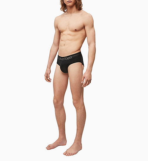 CALVINKLEIN Hip Briefs - Focused Fit - BLACK - CALVIN KLEIN BRIEFS - detail image 1
