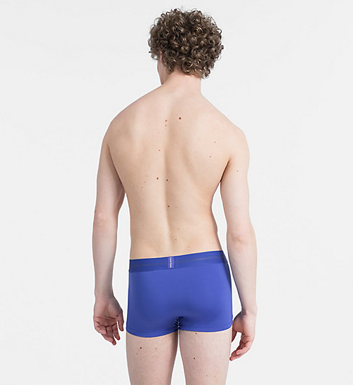 CALVIN KLEIN Low Rise Trunks - Focused Fit - BLUE NOVA - CALVIN KLEIN NEW IN - detail image 1