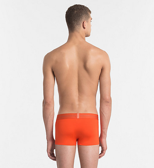 CALVINKLEIN Low Rise Trunks - Focused Fit - ORIOLE - CALVIN KLEIN Bright Colours - detail image 1