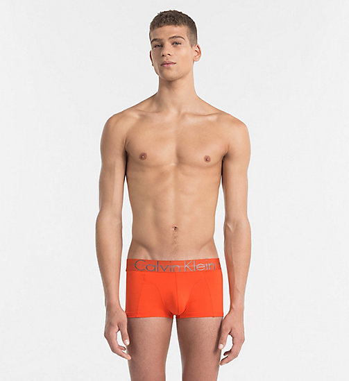 CALVINKLEIN Low Rise Trunks - Focused Fit - ORIOLE - CALVIN KLEIN NEW ARRIVALS - main image