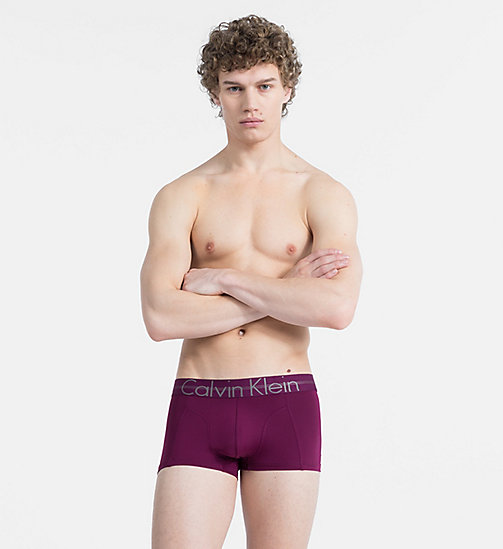 CALVINKLEIN Low Rise Trunks - Focused Fit - BRIGHT PLUM - CALVIN KLEIN NEW FOR MEN - main image