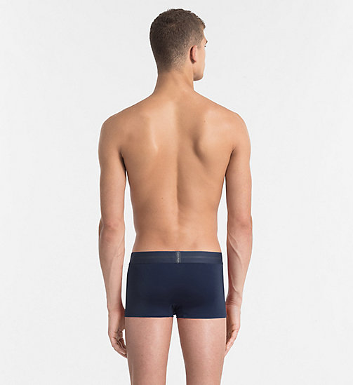 CALVINKLEIN Low Rise Trunks - Focused Fit - BLUE SHADOW - CALVIN KLEIN UNDERWEAR - detail image 1