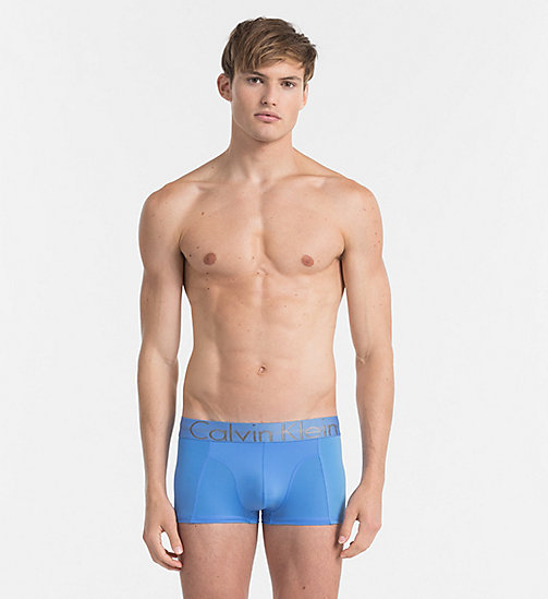 CALVINKLEIN Low Rise Trunks - Focused Fit - MISTY BLUE - CALVIN KLEIN NEW IN - main image