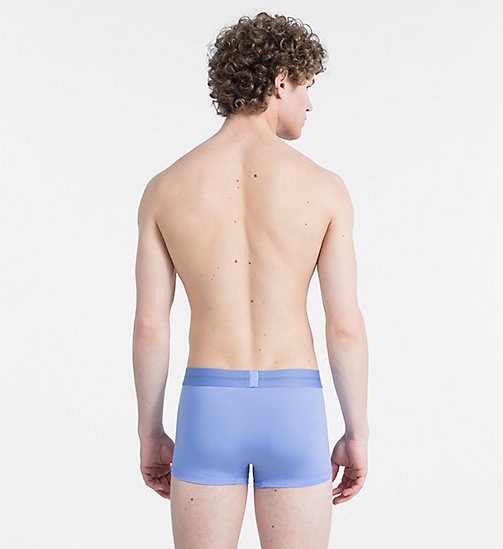 CALVIN KLEIN Low Rise Trunks - Focused Fit - PERIWINKLE - CALVIN KLEIN TRUNKS - detail image 1