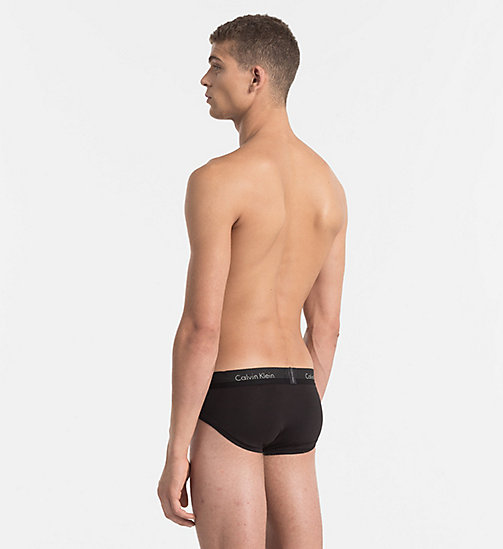 CALVINKLEIN Hip Briefs - Light - BLACK - CALVIN KLEIN BRIEFS - detail image 1