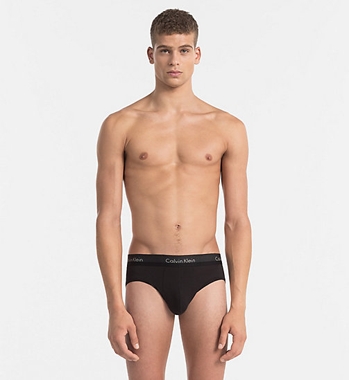 CALVINKLEIN Hip Briefs - Light - BLACK - CALVIN KLEIN BRIEFS - main image