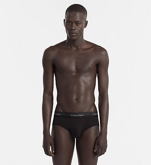 CALVINKLEIN Hip Briefs - Light - BLACK - CALVIN KLEIN UNDERWEAR - main image