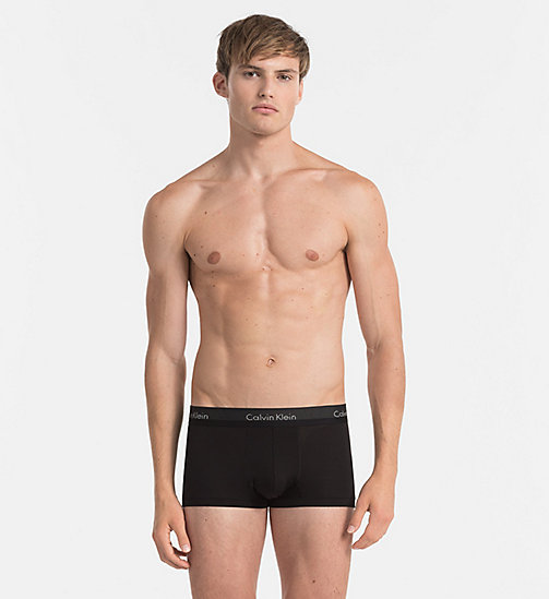 CALVINKLEIN Low Rise Trunks - Light - BLACK - CALVIN KLEIN NEW IN - main image