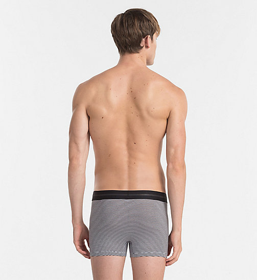 CALVINKLEIN Trunks - Focused Fit - BLACK / WHITE STRIPE - CALVIN KLEIN NEW ARRIVALS - detail image 1