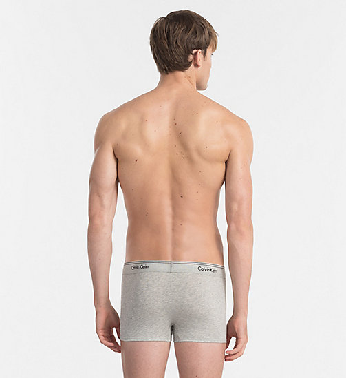 CALVINKLEIN Трусы-боксеры - Heritage - HEATHER GREY - CALVIN KLEIN LOGO SHOP - подробное изображение 1