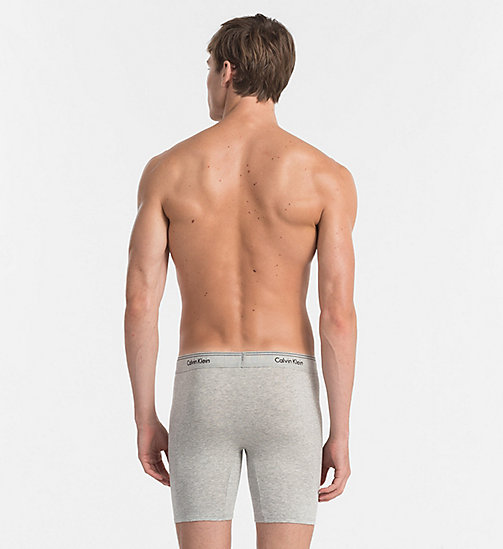 CALVINKLEIN Трусы-шорты - Heritage - HEATHER GREY - CALVIN KLEIN LOGO SHOP - подробное изображение 1