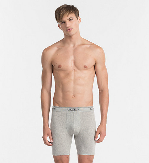 CALVINKLEIN Boxers - Heritage - HEATHER GREY - CALVIN KLEIN NEW IN - main image