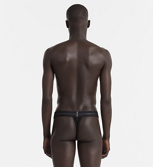 CALVINKLEIN Thong - Focused Fit - BLACK - CALVIN KLEIN NEW ARRIVALS - detail image 1