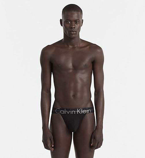 CALVINKLEIN Thong - Focused Fit - BLACK - CALVIN KLEIN NEW ARRIVALS - main image