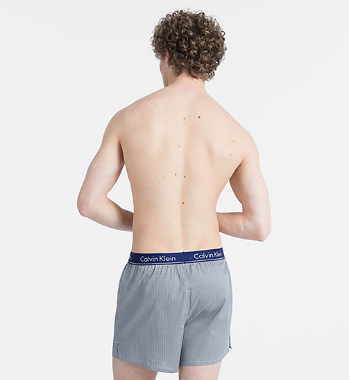 CALVIN KLEIN Slim Fit Boxers - WUXI 2 HEATHER GREY - CALVIN KLEIN BOXERS - detail image 1